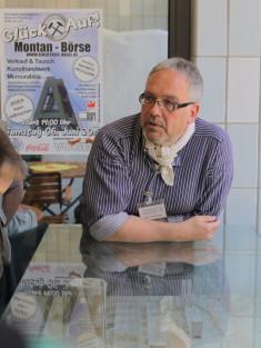 Der Gästeführer aus Leidenschaft im Einsatz auf der Kokerei Hansa in Dortmund-Huckarde