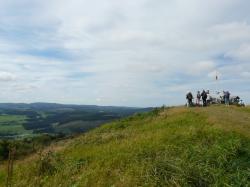 Gipfelpanorama am Clemensberg in Winterberg-Niedersfeld